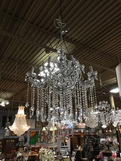 13 Light Marie Antoinette Crystal Chandelier
